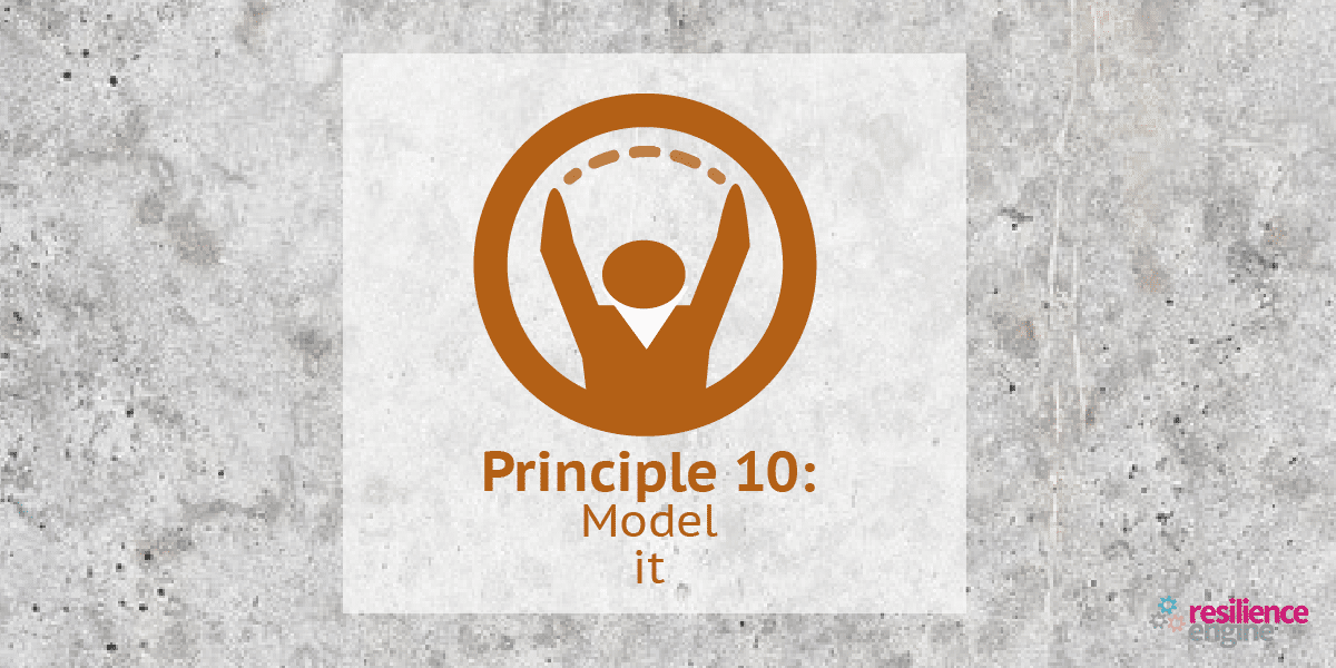Principle 10, enabling resilience, resilience engine, jenny campbell