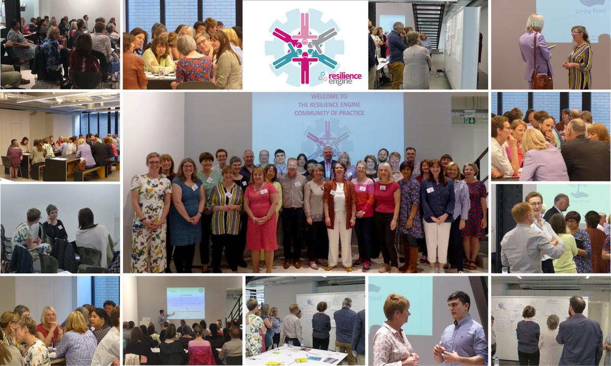 community of practice, coaching UK, the resilience engine, coaching event